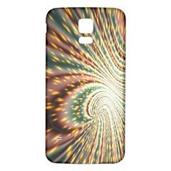 Vortex Glow Abstract Background Samsung Galaxy S5 Back Case (White)