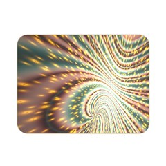 Vortex Glow Abstract Background Double Sided Flano Blanket (Mini)
