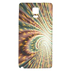 Vortex Glow Abstract Background Galaxy Note 4 Back Case