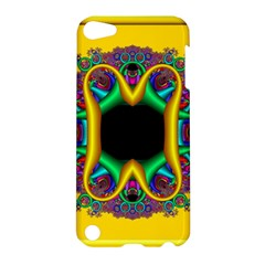 Fractal Rings In 3d Glass Frame Apple iPod Touch 5 Hardshell Case