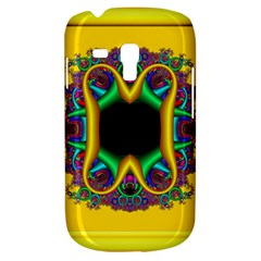 Fractal Rings In 3d Glass Frame Galaxy S3 Mini