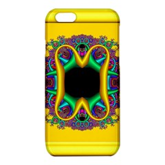Fractal Rings In 3d Glass Frame iPhone 6/6S TPU Case