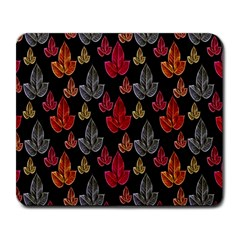 Leaves Pattern Background Large Mousepads