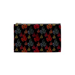Leaves Pattern Background Cosmetic Bag (small)
