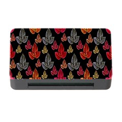 Leaves Pattern Background Memory Card Reader with CF