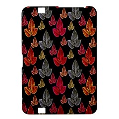 Leaves Pattern Background Kindle Fire Hd 8 9