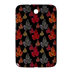 Leaves Pattern Background Samsung Galaxy Note 8.0 N5100 Hardshell Case
