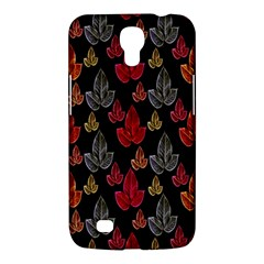 Leaves Pattern Background Samsung Galaxy Mega 6.3  I9200 Hardshell Case