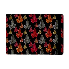 Leaves Pattern Background iPad Mini 2 Flip Cases