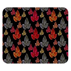 Leaves Pattern Background Double Sided Flano Blanket (Small)