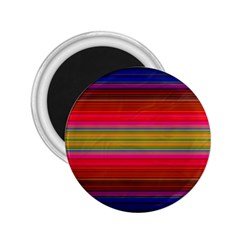 Fiestal Stripe Bright Colorful Neon Stripes Background 2 25  Magnets