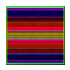Fiestal Stripe Bright Colorful Neon Stripes Background Face Towel
