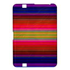 Fiestal Stripe Bright Colorful Neon Stripes Background Kindle Fire HD 8.9