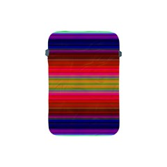 Fiestal Stripe Bright Colorful Neon Stripes Background Apple iPad Mini Protective Soft Cases