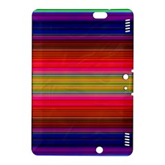 Fiestal Stripe Bright Colorful Neon Stripes Background Kindle Fire HDX 8.9  Hardshell Case