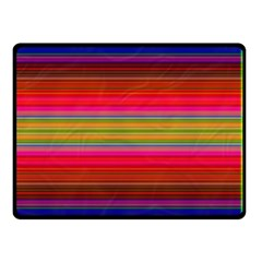 Fiestal Stripe Bright Colorful Neon Stripes Background Double Sided Fleece Blanket (small)