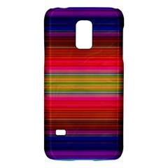 Fiestal Stripe Bright Colorful Neon Stripes Background Galaxy S5 Mini
