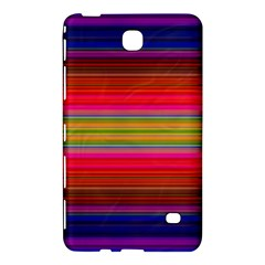 Fiestal Stripe Bright Colorful Neon Stripes Background Samsung Galaxy Tab 4 (7 ) Hardshell Case