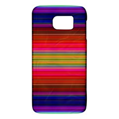 Fiestal Stripe Bright Colorful Neon Stripes Background Galaxy S6