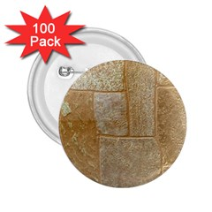 Texture Of Ceramic Tile 2 25  Buttons (100 Pack)