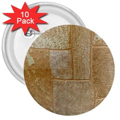 Texture Of Ceramic Tile 3  Buttons (10 pack)