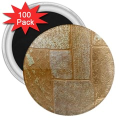 Texture Of Ceramic Tile 3  Magnets (100 pack)