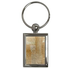 Texture Of Ceramic Tile Key Chains (rectangle)