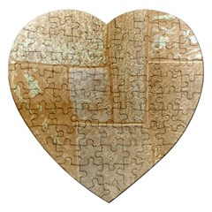 Texture Of Ceramic Tile Jigsaw Puzzle (Heart)