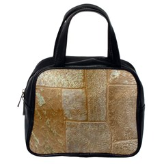 Texture Of Ceramic Tile Classic Handbags (one Side)
