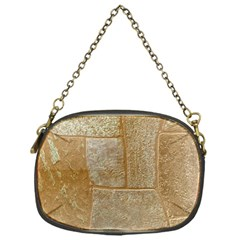 Texture Of Ceramic Tile Chain Purses (one Side)