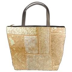 Texture Of Ceramic Tile Bucket Bags