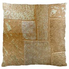 Texture Of Ceramic Tile Large Cushion Case (two Sides)