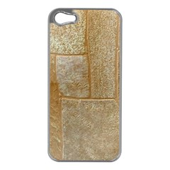 Texture Of Ceramic Tile Apple Iphone 5 Case (silver)