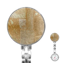 Texture Of Ceramic Tile Stainless Steel Nurses Watch