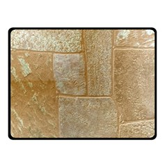Texture Of Ceramic Tile Double Sided Fleece Blanket (Small)
