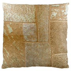 Texture Of Ceramic Tile Large Flano Cushion Case (One Side)