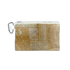 Texture Of Ceramic Tile Canvas Cosmetic Bag (S)