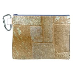 Texture Of Ceramic Tile Canvas Cosmetic Bag (XXL)