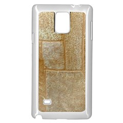 Texture Of Ceramic Tile Samsung Galaxy Note 4 Case (White)