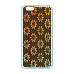 Grunge Brown Flower Background Pattern Apple Seamless iPhone 6/6S Case (Color)