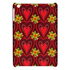 Digitally Created Seamless Love Heart Pattern Tile Apple iPad Mini Hardshell Case