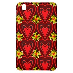 Digitally Created Seamless Love Heart Pattern Tile Samsung Galaxy Tab Pro 8.4 Hardshell Case