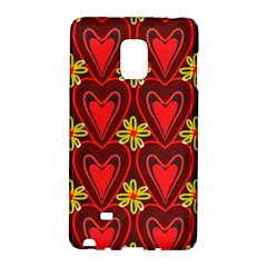 Digitally Created Seamless Love Heart Pattern Tile Galaxy Note Edge