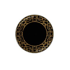Abstract  Frame Pattern Card Hat Clip Ball Marker