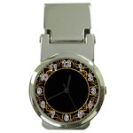 Abstract  Frame Pattern Card Money Clip Watches Front