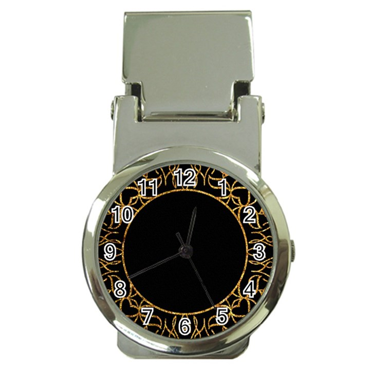 Abstract  Frame Pattern Card Money Clip Watches