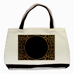Abstract  Frame Pattern Card Basic Tote Bag