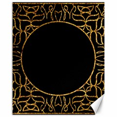 Abstract  Frame Pattern Card Canvas 16  X 20