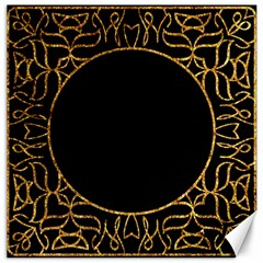 Abstract  Frame Pattern Card Canvas 20  X 20