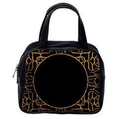 Abstract  Frame Pattern Card Classic Handbags (one Side)